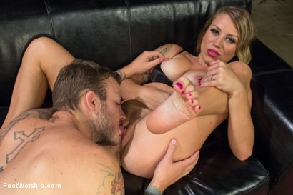 Photo number 8 from Real Couples of Porn: Hot Foot Worship with Christian and Bella Wilde! shot for Foot Worship on Kink.com. Featuring Bella Wilde and Christian Wilde in hardcore BDSM & Fetish porn.