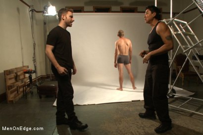 Photo number 1 from Straight stud bound, edged and milked multiple loads  shot for Men On Edge on Kink.com. Featuring Jonah Marx in hardcore BDSM & Fetish porn.