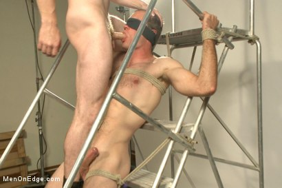 Photo number 9 from Straight stud bound, edged and milked multiple loads  shot for Men On Edge on Kink.com. Featuring Jonah Marx in hardcore BDSM & Fetish porn.