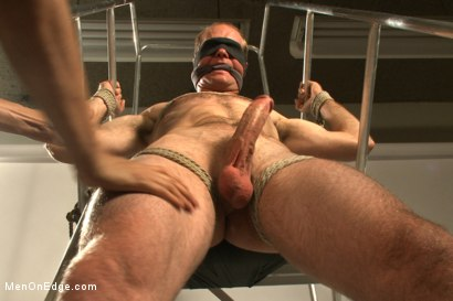 Photo number 6 from Straight stud bound, edged and milked multiple loads  shot for Men On Edge on Kink.com. Featuring Jonah Marx in hardcore BDSM & Fetish porn.