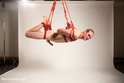 Photo number 12 from Straight stud bound, edged and milked multiple loads  shot for Men On Edge on Kink.com. Featuring Jonah Marx in hardcore BDSM & Fetish porn.
