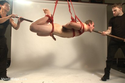 Photo number 10 from Straight stud bound, edged and milked multiple loads  shot for Men On Edge on Kink.com. Featuring Jonah Marx in hardcore BDSM & Fetish porn.