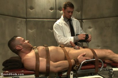 Photo number 3 from Sexual Aversion Therapy shot for Bound Gods on Kink.com. Featuring Connor Maguire and Sebastian Rossi in hardcore BDSM & Fetish porn.