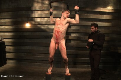 Photo number 11 from Sermon Not Semen! shot for Bound Gods on Kink.com. Featuring Hayden Richards and Doug Acre in hardcore BDSM & Fetish porn.