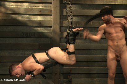 Photo number 16 from Sermon Not Semen! shot for Bound Gods on Kink.com. Featuring Hayden Richards and Doug Acre in hardcore BDSM & Fetish porn.