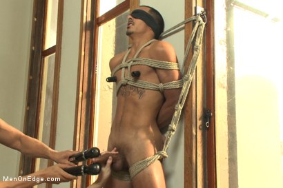 Photo number 10 from Twice the edging, twice the cum with Rico and John shot for Men On Edge on Kink.com. Featuring Rico Romero and John Jammen in hardcore BDSM & Fetish porn.