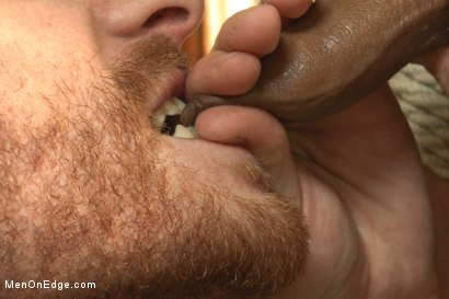 Photo number 14 from Twice the edging, twice the cum with Rico and John shot for Men On Edge on Kink.com. Featuring Rico Romero and John Jammen in hardcore BDSM & Fetish porn.