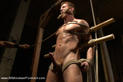 Photo number 4 from House Dom Connor Maguire - Extreme Torment and Ass Violation shot for 30 Minutes of Torment on Kink.com. Featuring Connor Maguire in hardcore BDSM & Fetish porn.