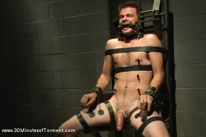 Photo number 11 from Straight stud James Riker tossed around like a rag doll shot for 30 Minutes of Torment on Kink.com. Featuring James Riker in hardcore BDSM & Fetish porn.