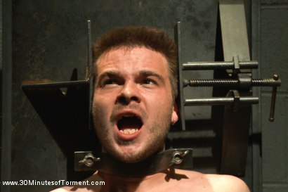 Photo number 13 from Straight stud James Riker tossed around like a rag doll shot for 30 Minutes of Torment on Kink.com. Featuring James Riker in hardcore BDSM & Fetish porn.