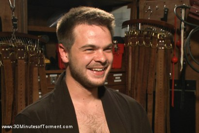 Photo number 15 from Straight stud James Riker tossed around like a rag doll shot for 30 Minutes of Torment on Kink.com. Featuring James Riker in hardcore BDSM & Fetish porn.