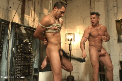 Photo number 11 from Creepy handyman choke fucks an unwilling student in bondage shot for Bound Gods on Kink.com. Featuring Rico Romero and Trenton Ducati in hardcore BDSM & Fetish porn.