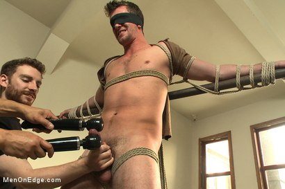 Photo number 3 from Straight southern stud with a big uncut dick shot for Men On Edge on Kink.com. Featuring Bryan Cavallo in hardcore BDSM & Fetish porn.