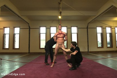Photo number 5 from Straight southern stud with a big uncut dick shot for Men On Edge on Kink.com. Featuring Bryan Cavallo in hardcore BDSM & Fetish porn.