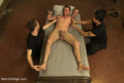 Photo number 14 from Straight southern stud with a big uncut dick shot for Men On Edge on Kink.com. Featuring Bryan Cavallo in hardcore BDSM & Fetish porn.