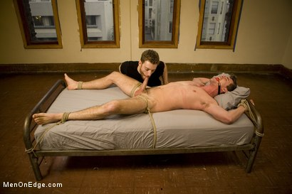 Photo number 10 from Straight southern stud with a big uncut dick shot for Men On Edge on Kink.com. Featuring Bryan Cavallo in hardcore BDSM & Fetish porn.