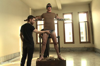 Photo number 1 from Straight southern stud with a big uncut dick shot for Men On Edge on Kink.com. Featuring Bryan Cavallo in hardcore BDSM & Fetish porn.
