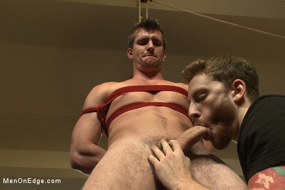Photo number 8 from Straight southern stud with a big uncut dick shot for Men On Edge on Kink.com. Featuring Bryan Cavallo in hardcore BDSM & Fetish porn.