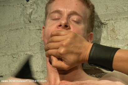 Photo number 3 from Cock and Hole Torment shot for 30 Minutes of Torment on Kink.com. Featuring Liam Harkmoore in hardcore BDSM & Fetish porn.