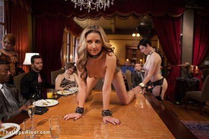 Photo number 4 from Young Slut Fucked and Tossed Out, and Big Tit Consort Takes Charge shot for The Upper Floor on Kink.com. Featuring Bill Bailey, Dallas Blaze and Iona Grace in hardcore BDSM & Fetish porn.
