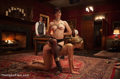 Photo number 1 from Young Slut Fucked and Tossed Out, and Big Tit Consort Takes Charge shot for The Upper Floor on Kink.com. Featuring Bill Bailey, Dallas Blaze and Iona Grace in hardcore BDSM & Fetish porn.