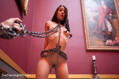 Photo number 1 from Punishing the Bad Girl, Day One shot for The Training Of O on Kink.com. Featuring Lyla Storm in hardcore BDSM & Fetish porn.