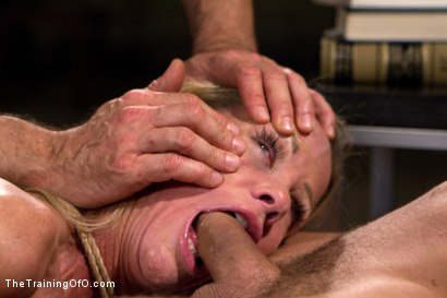 Photo number 7 from The Training of a Domestic MILF, Day Three shot for The Training Of O on Kink.com. Featuring Simone Sonay and Mr. Pete in hardcore BDSM & Fetish porn.