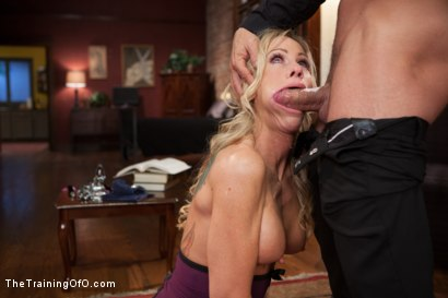 Photo number 6 from The Anal Training of a Domestic MILF, Final Day shot for The Training Of O on Kink.com. Featuring Simone Sonay and Mr. Pete in hardcore BDSM & Fetish porn.