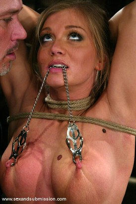 Photo number 3 from Mark Davis and Rita Faltoyano shot for Sex And Submission on Kink.com. Featuring Rita Faltoyano and Mark Davis in hardcore BDSM & Fetish porn.