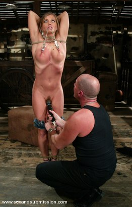Photo number 4 from Mark Davis and Rita Faltoyano shot for Sex And Submission on Kink.com. Featuring Rita Faltoyano and Mark Davis in hardcore BDSM & Fetish porn.