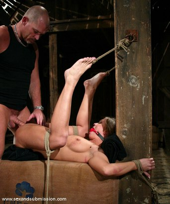Photo number 14 from Mark Davis and Rita Faltoyano shot for Sex And Submission on Kink.com. Featuring Rita Faltoyano and Mark Davis in hardcore BDSM & Fetish porn.