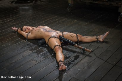 Photo number 10 from <strong>Broken Whore</strong> shot for Device Bondage on Kink.com. Featuring Orlando and Serena Blair in hardcore BDSM & Fetish porn.
