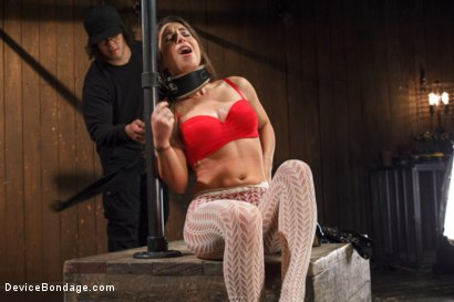 Photo number 1 from <strong>Broken Whore</strong> shot for Device Bondage on Kink.com. Featuring Orlando and Serena Blair in hardcore BDSM & Fetish porn.