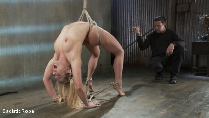 Photo number 9 from Dahlia Sky endures extreme bondage and brutal torture! shot for Sadistic Rope on Kink.com. Featuring Dahlia Sky in hardcore BDSM & Fetish porn.