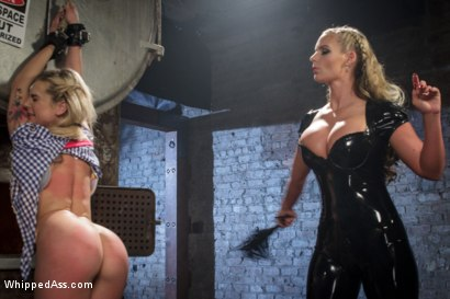 Photo number 15 from Dahlia Sky VS Phoenix Marie  shot for Whipped Ass on Kink.com. Featuring Dahlia Sky and Phoenix Marie in hardcore BDSM & Fetish porn.