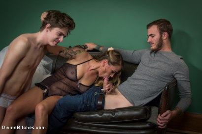 Photo number 3 from Cuckold of Convenience  shot for Divine Bitches on Kink.com. Featuring Bella Wilde, Christian Wilde and Kam Rider in hardcore BDSM & Fetish porn.