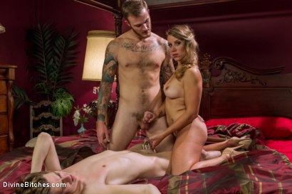 Photo number 13 from Cuckold of Convenience  shot for Divine Bitches on Kink.com. Featuring Bella Wilde, Christian Wilde and Kam Rider in hardcore BDSM & Fetish porn.