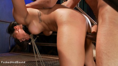 Photo number 14 from Penthouse Pet, Adrianna Luna gets Fucked and Bound!!! shot for Fucked and Bound on Kink.com. Featuring Adrianna Luna and Mickey Mod in hardcore BDSM & Fetish porn.