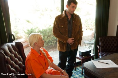 Photo number 1 from Convict Rehab Part 2: Summer Brielle shot for Sex And Submission on Kink.com. Featuring James Deen, Summer Brielle  and Gaia in hardcore BDSM & Fetish porn.