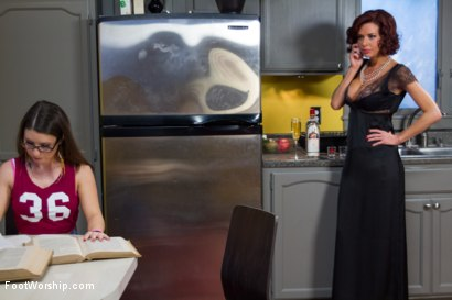 Photo number 3 from Mommy Dearest shot for Foot Worship on Kink.com. Featuring Veronica Avluv and Serena Blair in hardcore BDSM & Fetish porn.