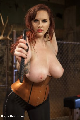 Photo number 2 from Mz. Berlin Humiliates, Fucks, and Punishes Slave with No Limits shot for Divine Bitches on Kink.com. Featuring Jake Jammer and Mz Berlin in hardcore BDSM & Fetish porn.