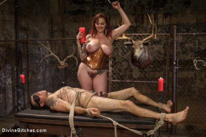 Photo number 12 from Mz. Berlin Humiliates, Fucks, and Punishes Slave with No Limits shot for Divine Bitches on Kink.com. Featuring Jake Jammer and Mz Berlin in hardcore BDSM & Fetish porn.