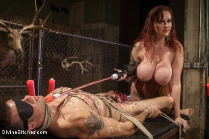 Photo number 14 from Mz. Berlin Humiliates, Fucks, and Punishes Slave with No Limits shot for Divine Bitches on Kink.com. Featuring Jake Jammer and Mz Berlin in hardcore BDSM & Fetish porn.