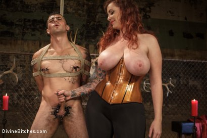Photo number 5 from Mz. Berlin Humiliates, Fucks, and Punishes Slave with No Limits shot for Divine Bitches on Kink.com. Featuring Jake Jammer and Mz Berlin in hardcore BDSM & Fetish porn.