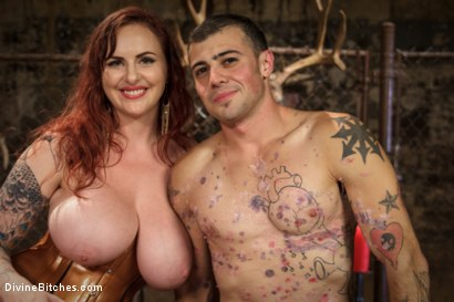 Photo number 16 from Mz. Berlin Humiliates, Fucks, and Punishes Slave with No Limits shot for Divine Bitches on Kink.com. Featuring Jake Jammer and Mz Berlin in hardcore BDSM & Fetish porn.