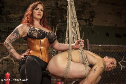 Photo number 3 from Mz. Berlin Humiliates, Fucks, and Punishes Slave with No Limits shot for Divine Bitches on Kink.com. Featuring Jake Jammer and Mz Berlin in hardcore BDSM & Fetish porn.
