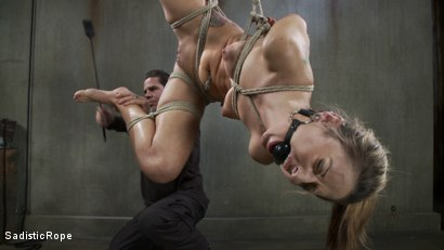 Photo number 12 from Blonde college student is subjected to extreme suffering. shot for Sadistic Rope on Kink.com. Featuring Dallas Blaze in hardcore BDSM & Fetish porn.