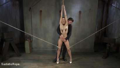 Photo number 2 from Blonde college student is subjected to extreme suffering. shot for Sadistic Rope on Kink.com. Featuring Dallas Blaze in hardcore BDSM & Fetish porn.