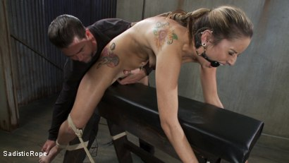Photo number 8 from Blonde college student is subjected to extreme suffering. shot for Sadistic Rope on Kink.com. Featuring Dallas Blaze in hardcore BDSM & Fetish porn.