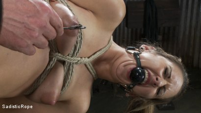 Photo number 9 from Blonde college student is subjected to extreme suffering. shot for Sadistic Rope on Kink.com. Featuring Dallas Blaze in hardcore BDSM & Fetish porn.